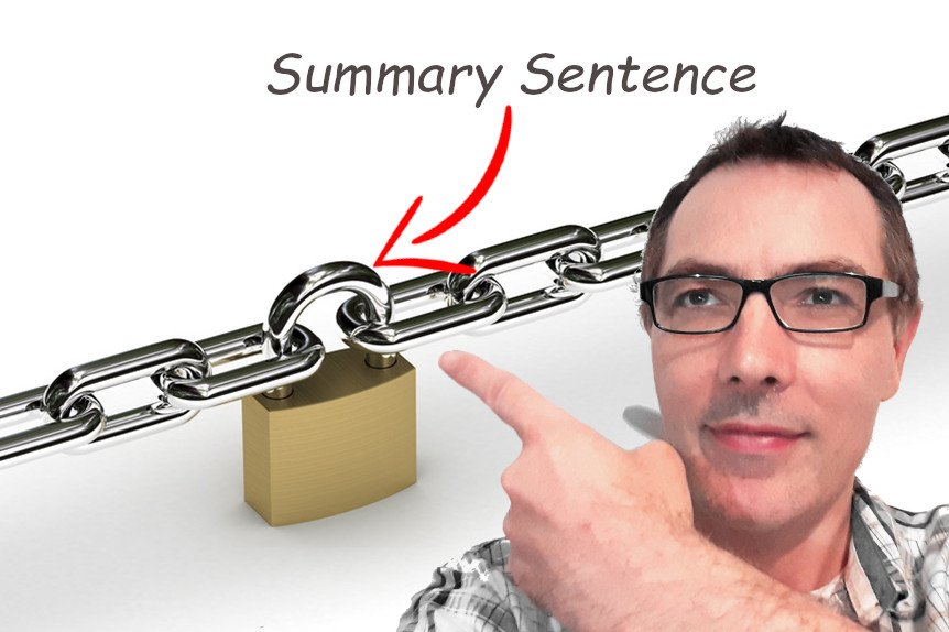 Linking with Summary Sentences